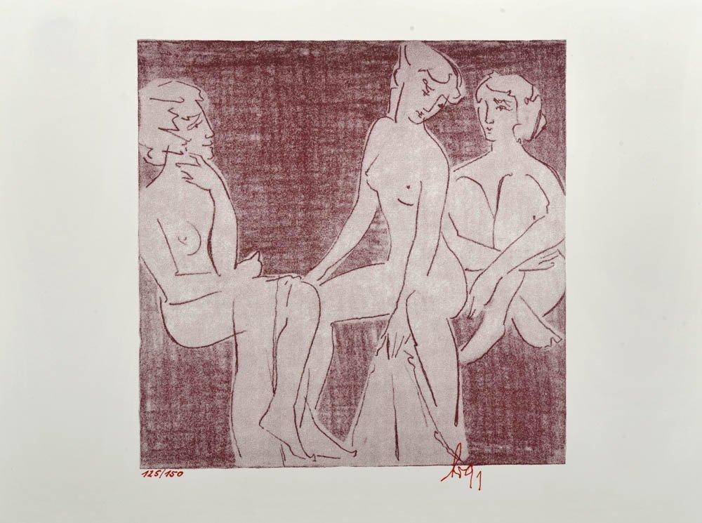 12: Hermann Bettermann, Drei Grazien, 1991