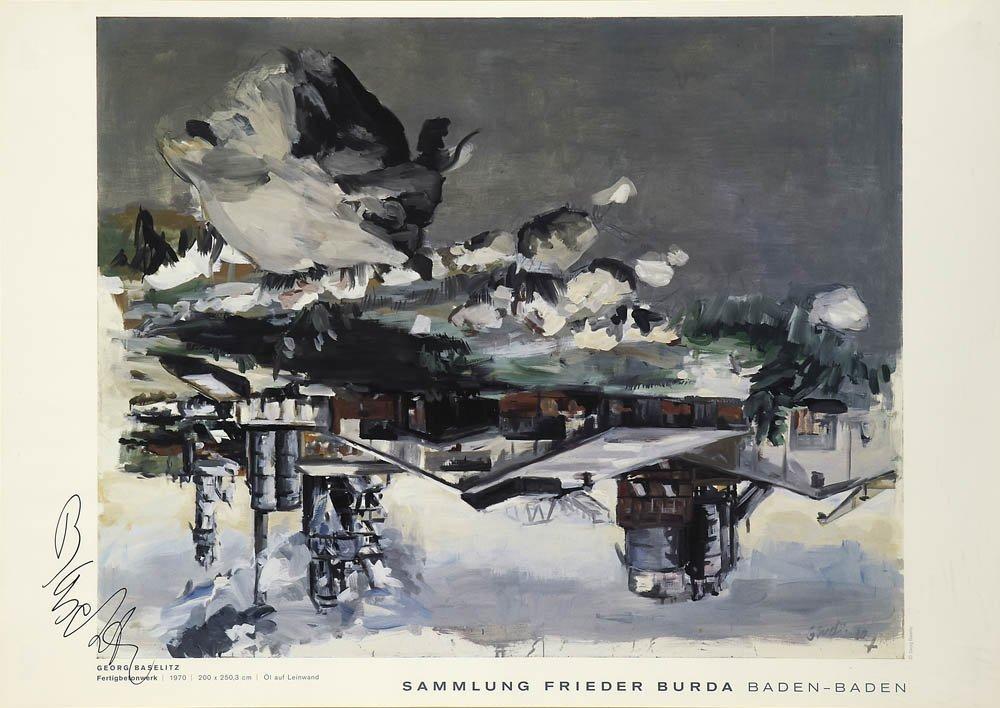 15: Georg Baselitz, Plakat 'Sammlung Frieder Burda', 19