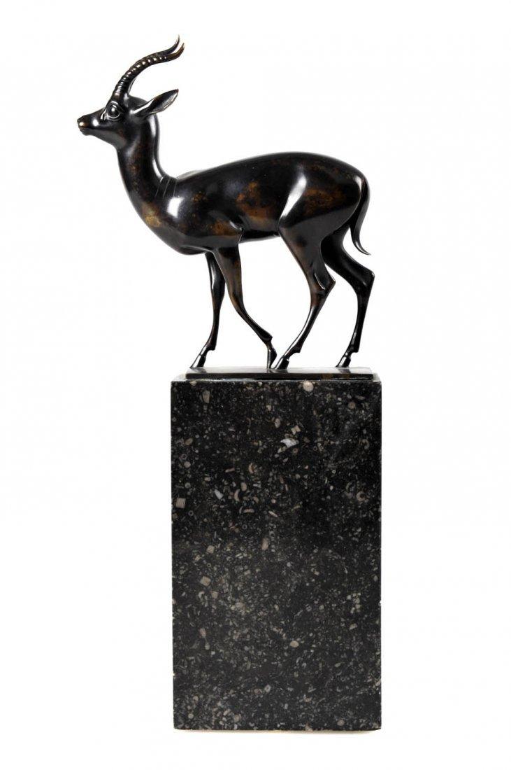 17: Fritz Behn, Gazelle, um 1925