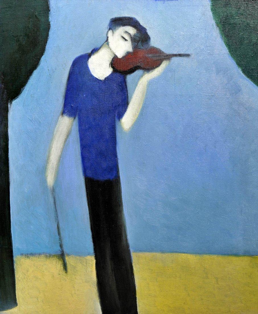 19: Shakro Bokuchawa, Geigenspieler, 1999