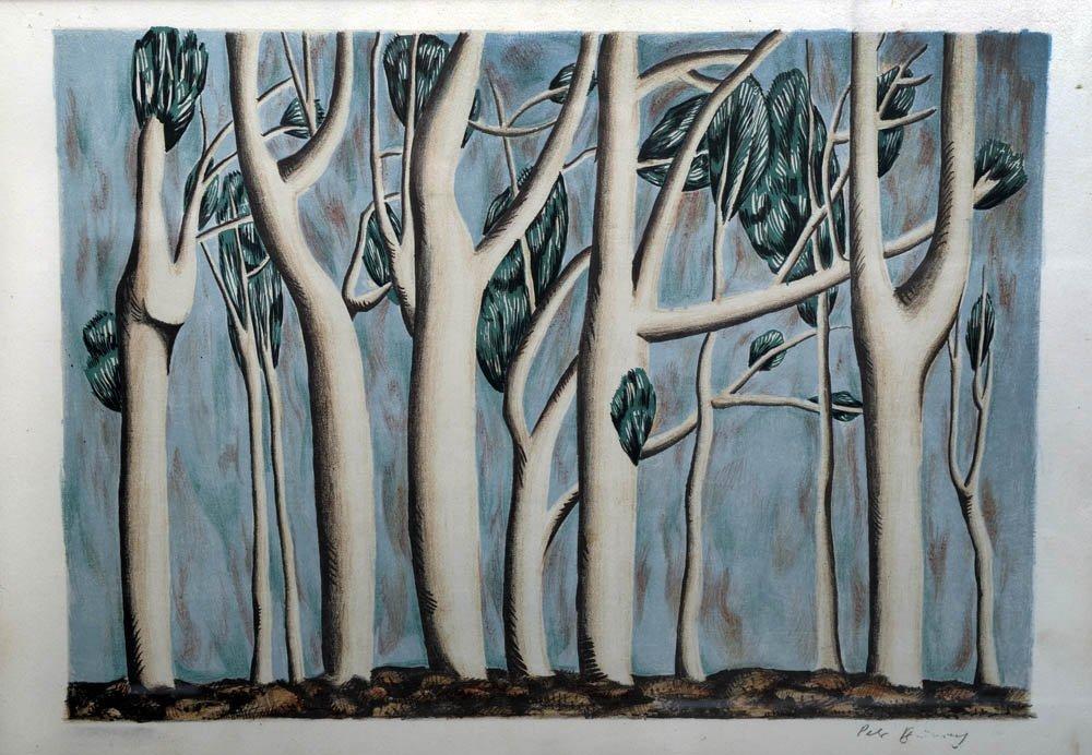 22: Peter Brüning, Bäume, um 1954