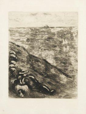 Marc Chagall, 'Le Berger Et La Mer', 1952