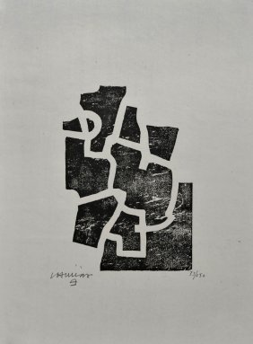 Eduardo Chillida, Derri�re Le Mirroir 'Chillida Scu