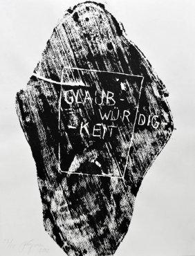 Felix Droese, 'Glaubw�rdigkeit', 2002