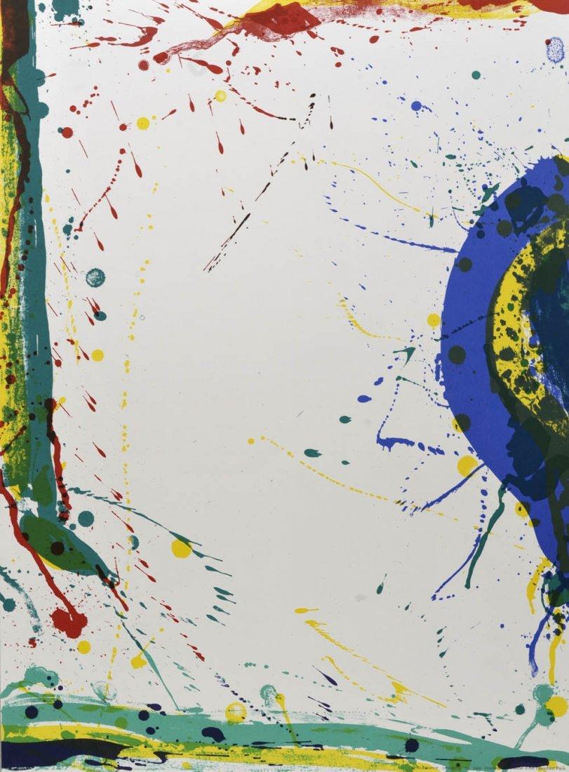 77: Sam Francis, Untitled, 1986
