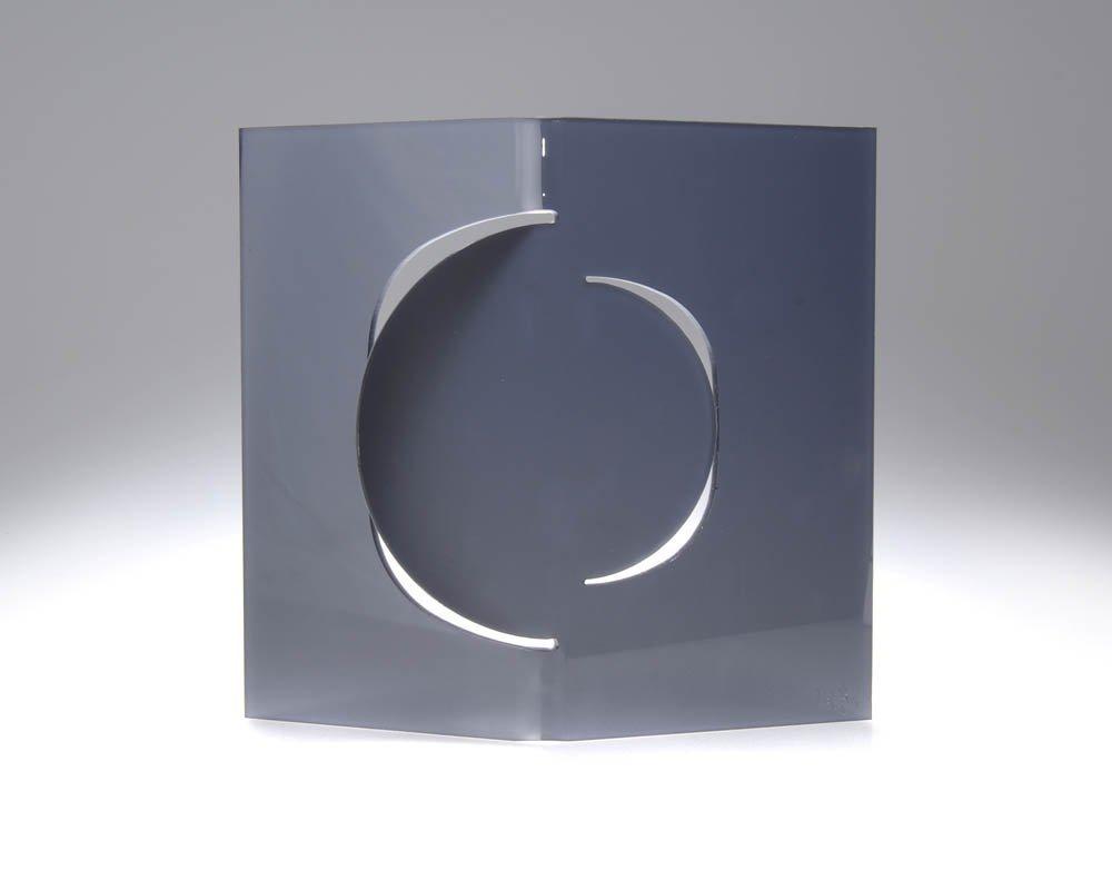79: Jürgen LIT Fischer, 'Laser Licht Relief Black'N Whi