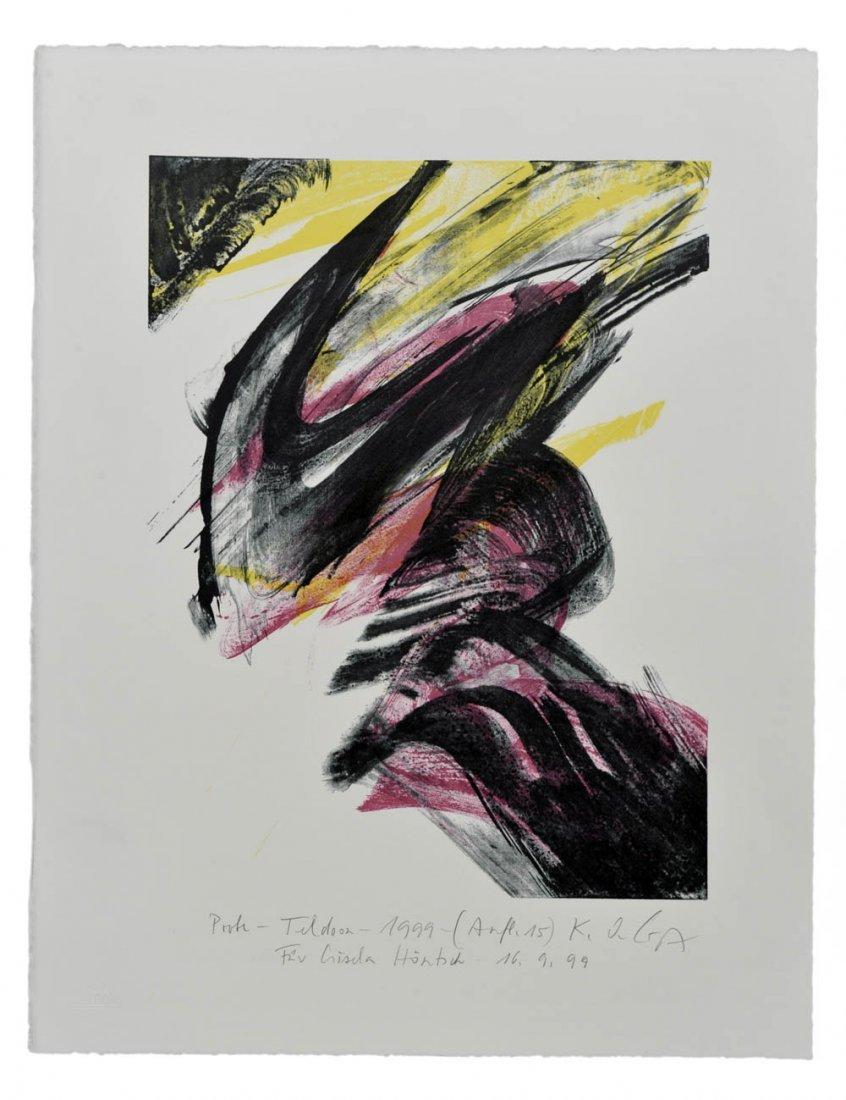 84: Karl Otto Götz, 'Teldoon', 1999