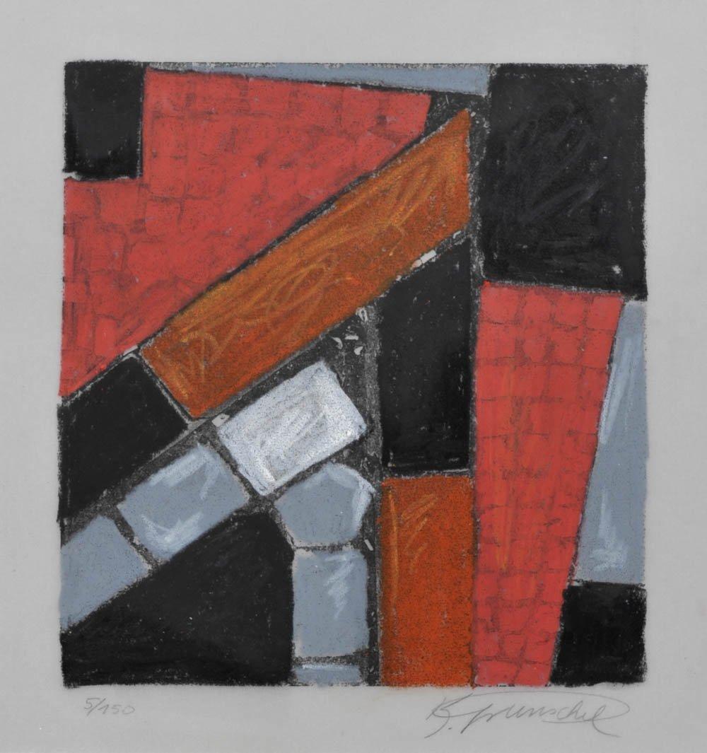 86: Karl Grunschel, 'Straßenfragment', um 1998