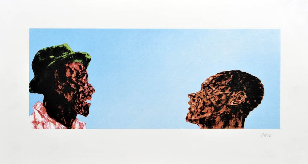 88: Leon Golub, The Explanation, 1993