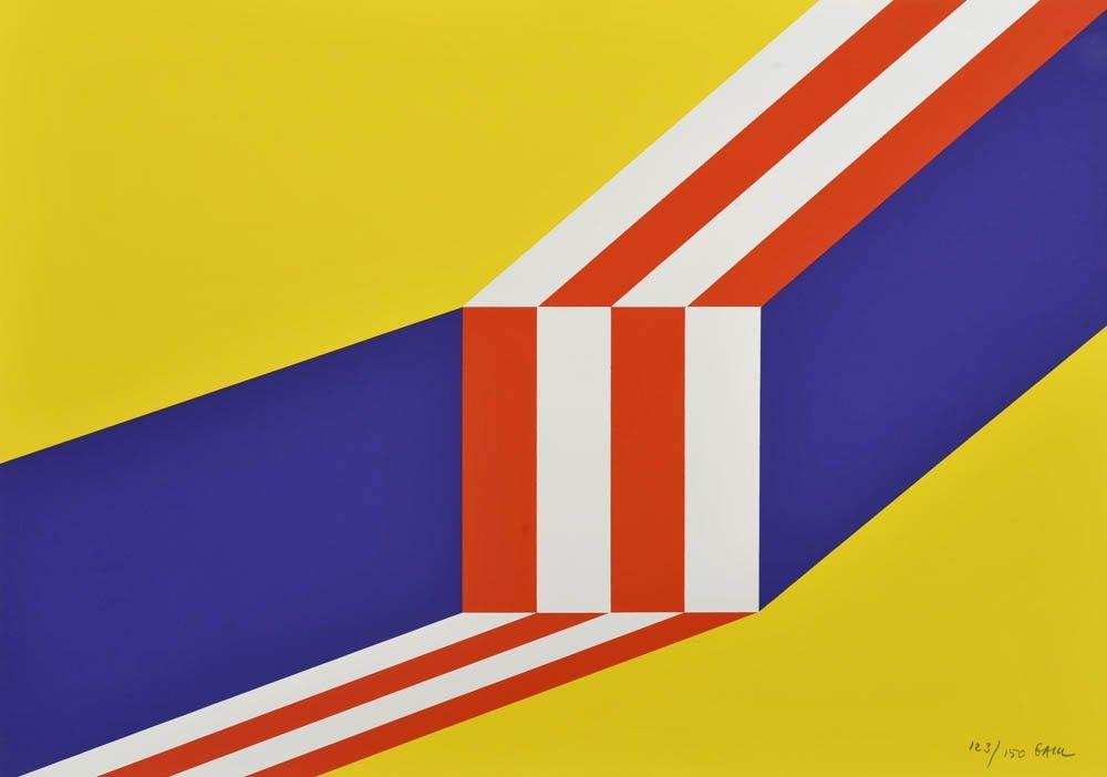 89: Winfried Gaul, Ohne Titel, 1968