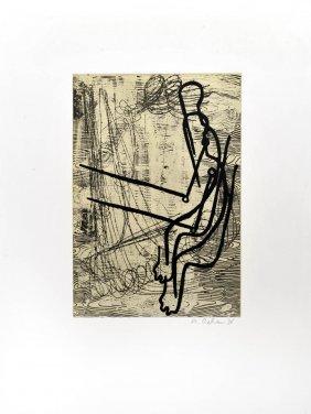 Markus Oehlen, 'Anglerinnen', 1988