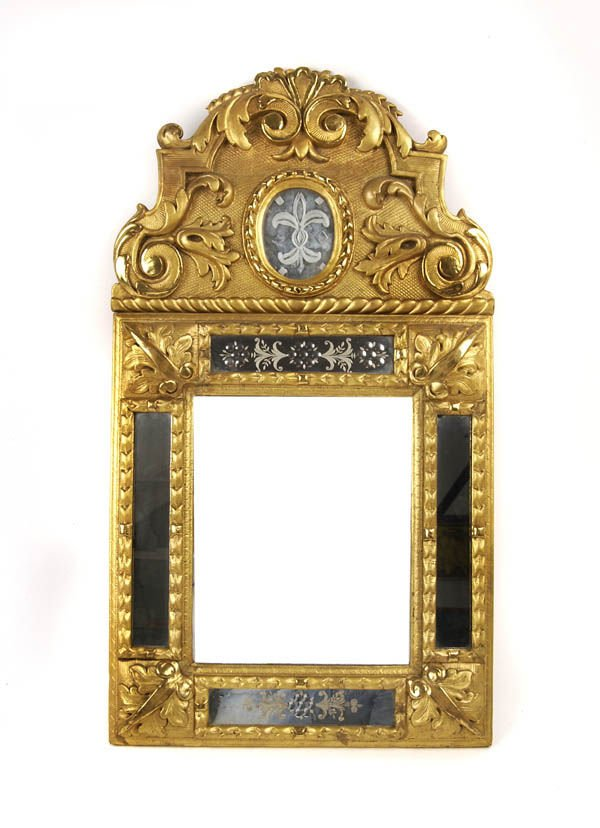 2: South Germany, Wall Mirror, around 1740