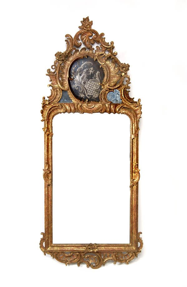 4: Southern Germany, Wall Mirror, around 1765