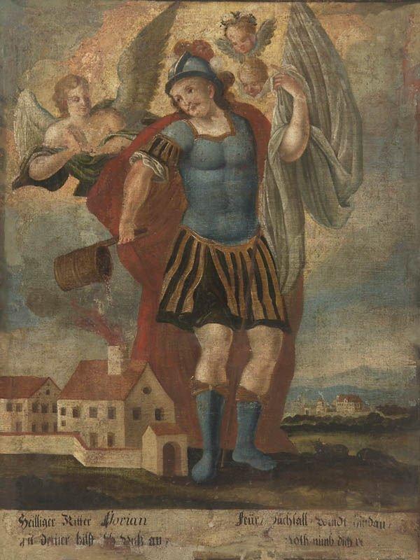 14: Süddeutscher Maler, Hl. Florian, um 1680