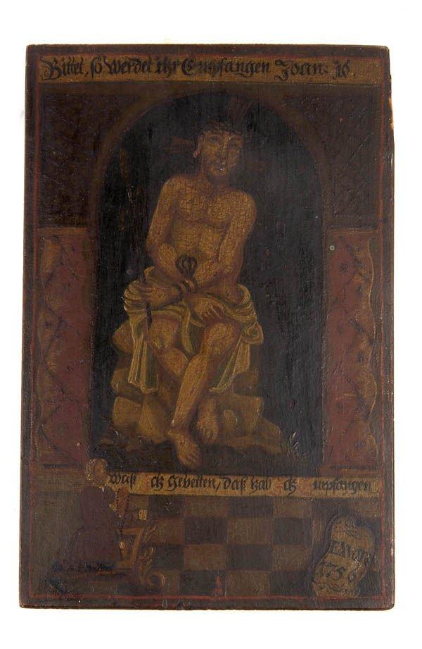 15: Bayerischer Maler, Ex Voto, 1756