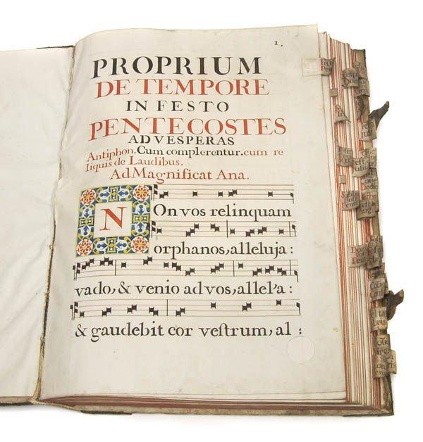24: Antiphonale Romano-Seraphicum, um 1770