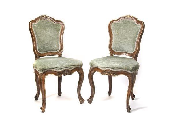 3004: Main Franconia, Pair of Chairs, ca. 1750