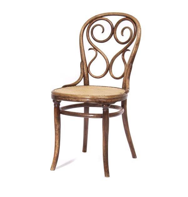3014: Michael Thonet , 'Café Daum' chair, ca. 1850