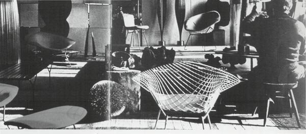 3165: Harry Bertoia, Big Easy Chair 'Diamond', 1954 - 2