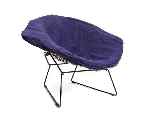 3165: Harry Bertoia, Big Easy Chair 'Diamond', 1954 - 3
