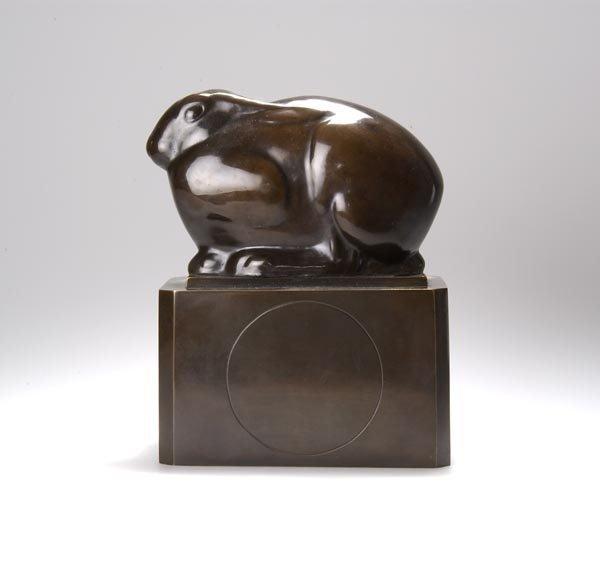 5034: Richard Scheibe, Hase, 1910