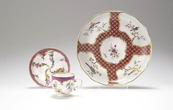 6: Porcelain Manufacture Frankenthal, Decorative Plate,
