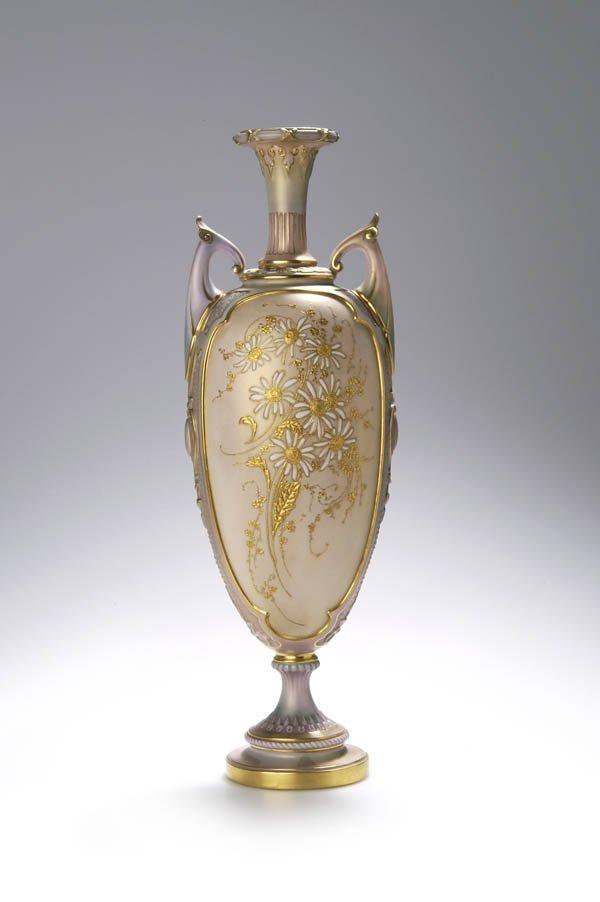 16: Royal Worcester, England, Vase, um 1860