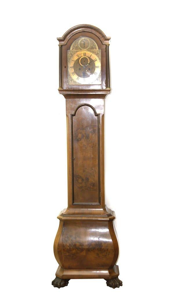 23: Thomas Hunter jun., London, Grandfather Clock, arou