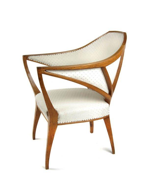 100: Bruno Paul, Armrest Chair, 1901