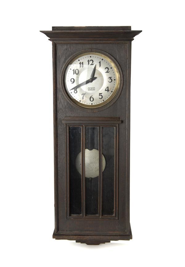 2: Peter Behrens, Wall Clock, around 1910