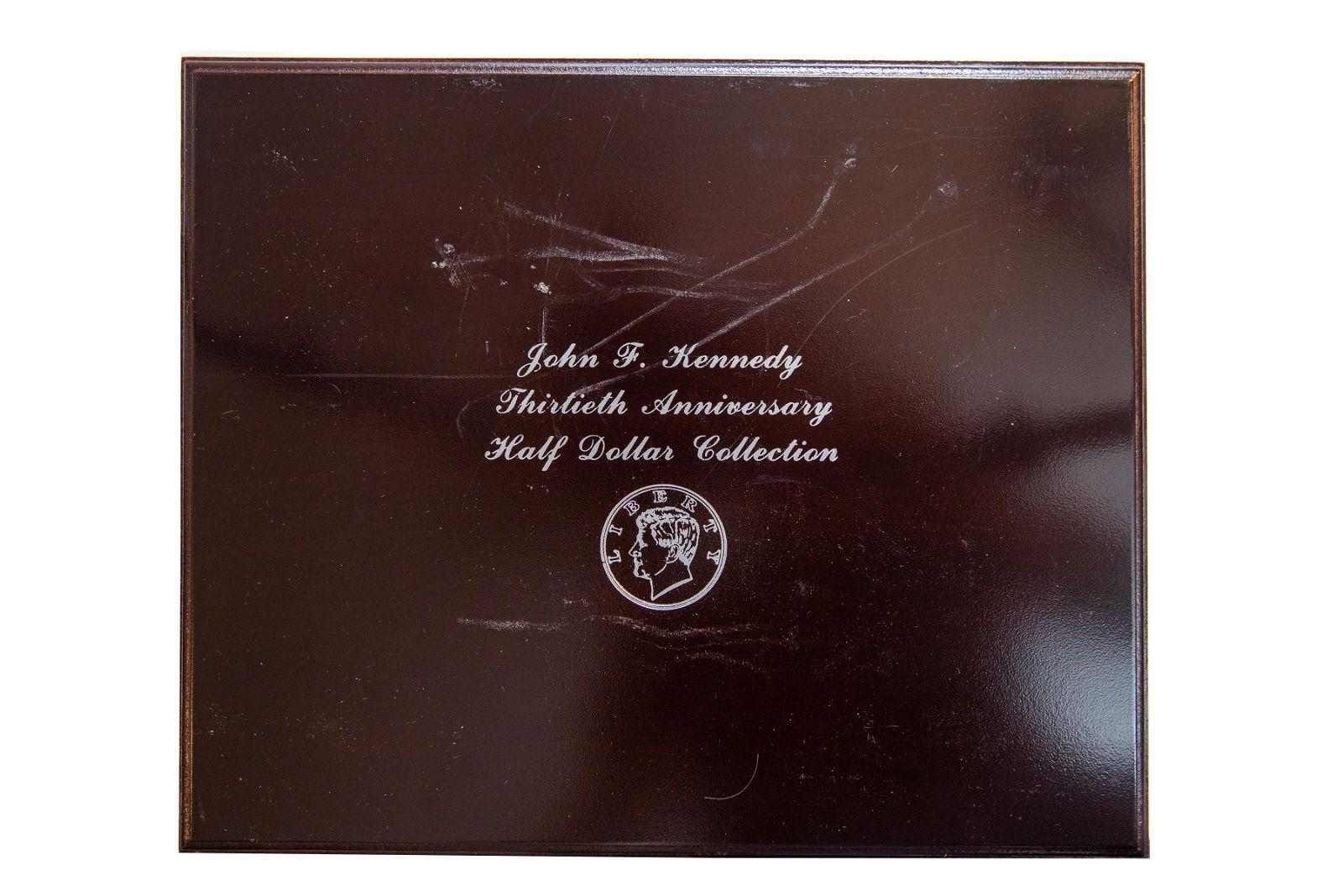 John F. Kennedy Thirtieth Anniversary 30 Half Dollar