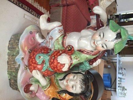 Porcelain Chinese couple