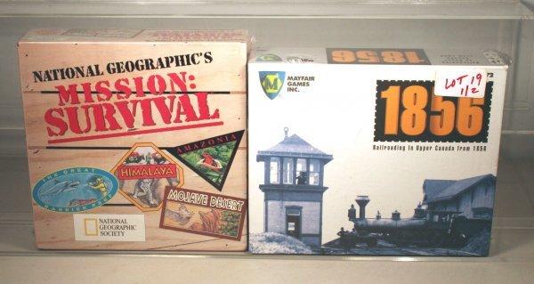 19: MAYFAIR GAMES INC. 1856 RAILROADING IN UPER CANADA