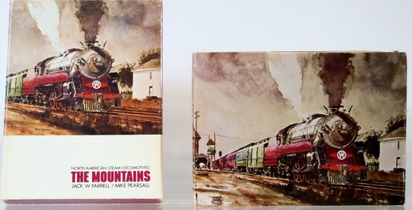 341: THE MOUNTAINS - NORTH AMERICAN STEAM LOCOMOTIVES