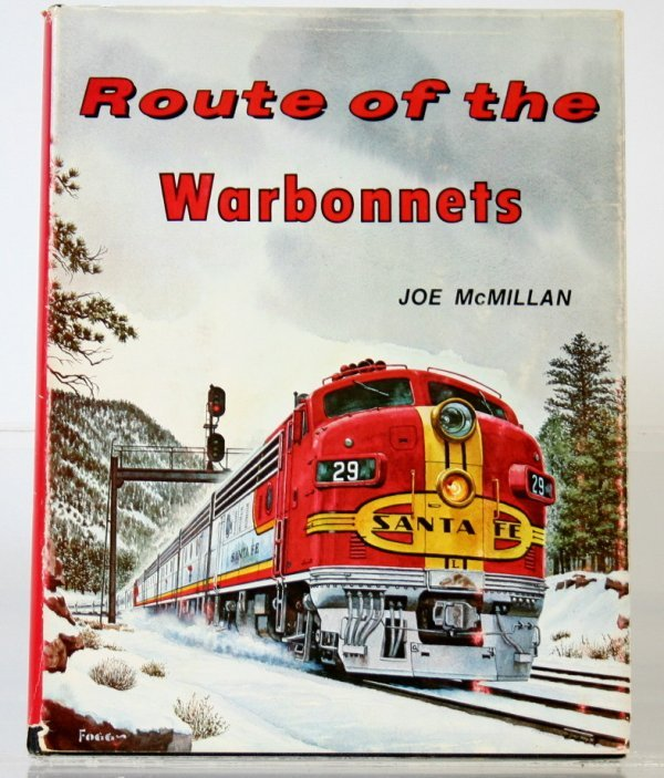 346: ROUTE OF THE WARBONNETS by JOE McMILLAN