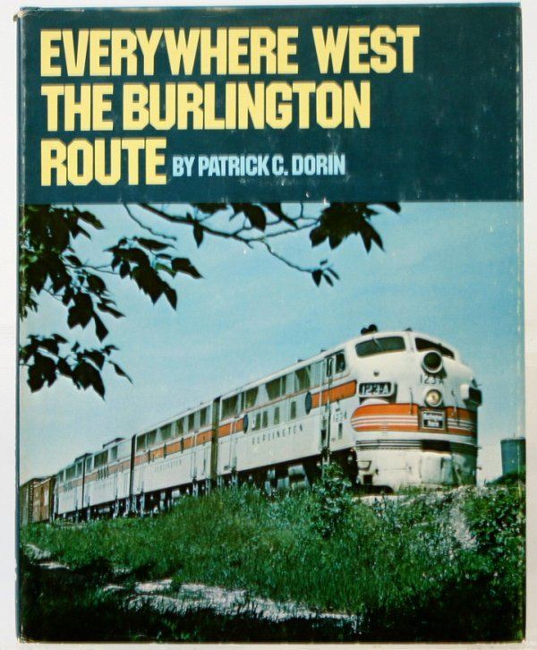 358: EVERYWHERE WEST THE BURLINGTON ROUTE