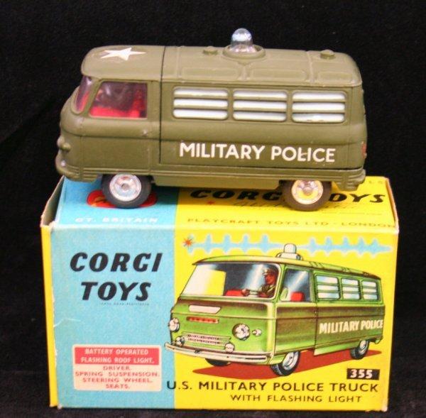 261: CORGI #355A MILITARY POLICE TRUCK