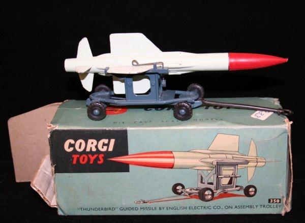 264: CORGI #350 THUNDERBIRD GUIDED MISSILE