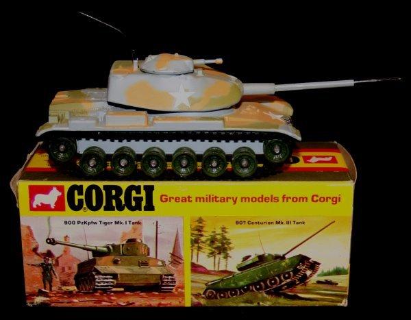 265: CORGI #902 M60A1 MEDIUM TANK