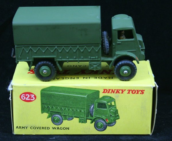 275: DINKY 623 ARMY COVERED WAGON