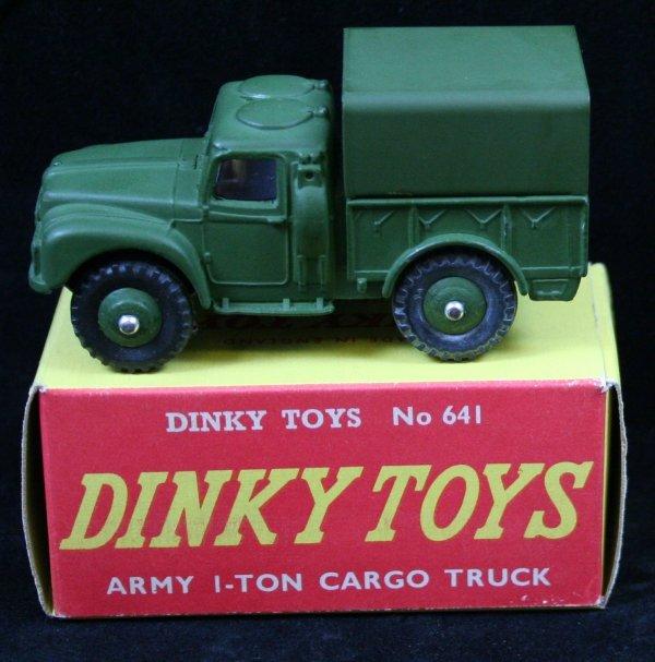 276: DINKY 641 ARMY 1 TON CARGO TRUCK