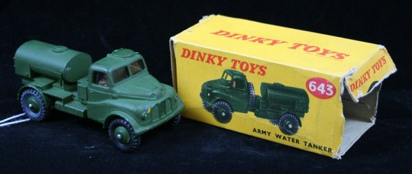 277: DINKY 642 ARMY WATER TANKER