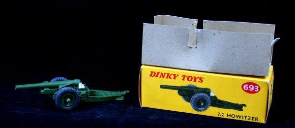 279: DINKY 693 - 7.2 HOWITZER
