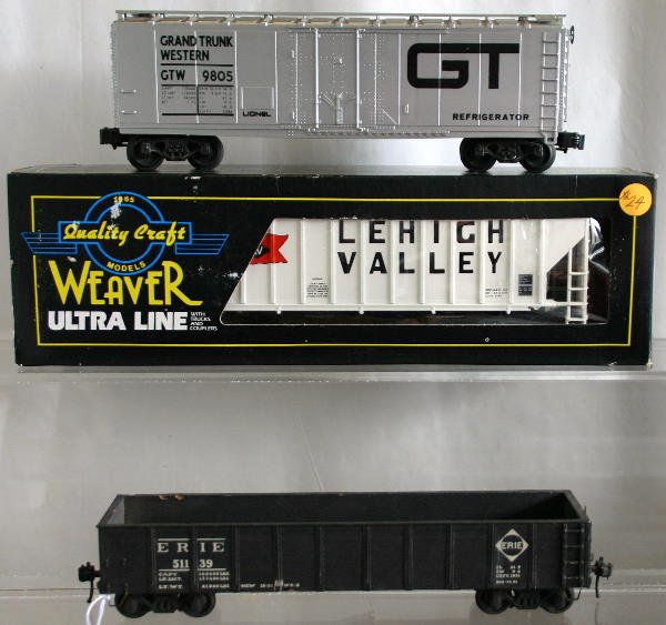 747: MPC GT STD. O REEFER, WEAVER LV HOPPER, WESTBROOK