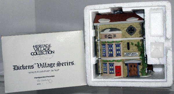 15: DEPT 56 DICKENS VILLAGE KING'S ROAD POST OFFICE 580