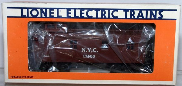 719: LIONEL O GAUGE 17600 NYC STD O CABOOSE. Box: YES S