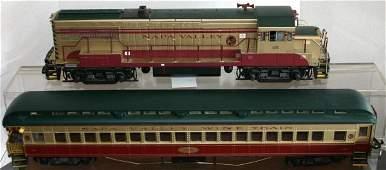 919: ARISTOCRAFT G GAUGE NAPA VALLEY WINE TRAIN LOCO, O