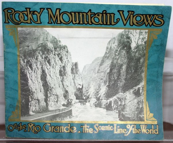 285: ROCKY MOUNTAIN VIEWS CIRCA 1943. PHOTOS AND ARTWOR