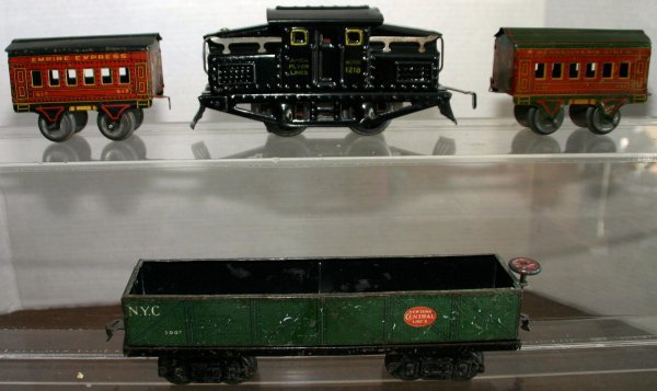 289: AMERICAN FLYER #1218 0-4-0 ELECTRIC LOCOMOTIVE W/
