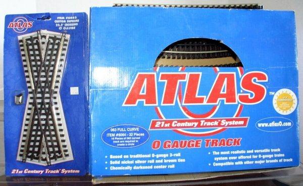 3: ATLAS O 6082 45 DEGREE XING. (4), 6064 063 FULL CURV